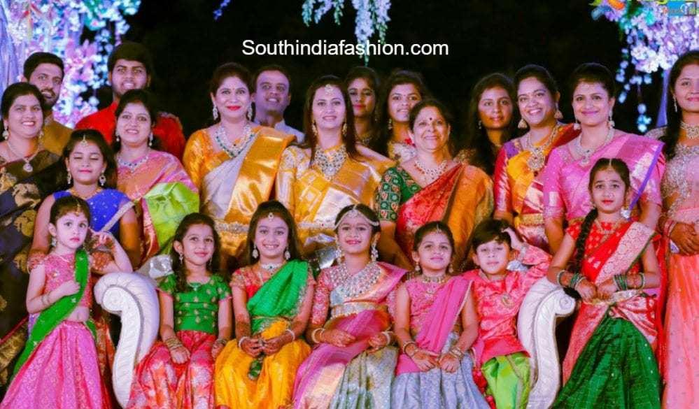 hiya-half-saree-function