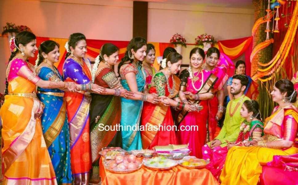 jewellery-designer-swetha-reddy-daughter-half-saree-function-pics