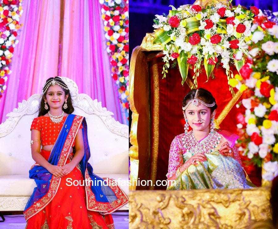 jewellery-designer-swetha-reddy-daughter-half-saree-function