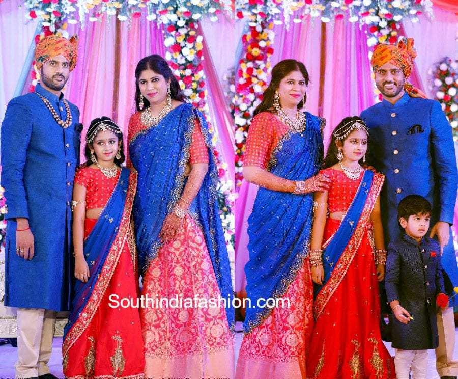jewellery-designer-swetha-reddy-daughter-swathi-reddy-half-saree-ceremony