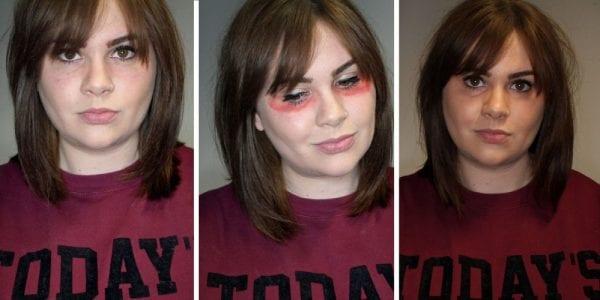 red-lipstick-to-hide-dark-circles