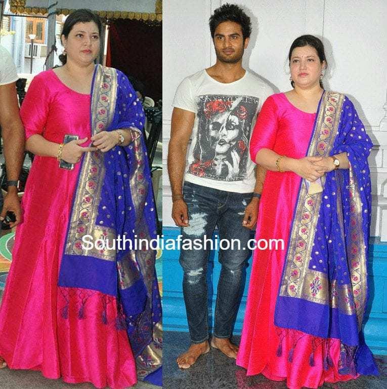 Priyadarshini Ghattamaneni Sudheer Babu Wife