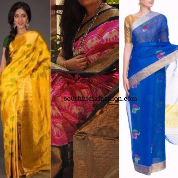 quirky motif sarees animal motif1 600x600