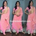 Ritu Varma in a Pink Palazzo Suit