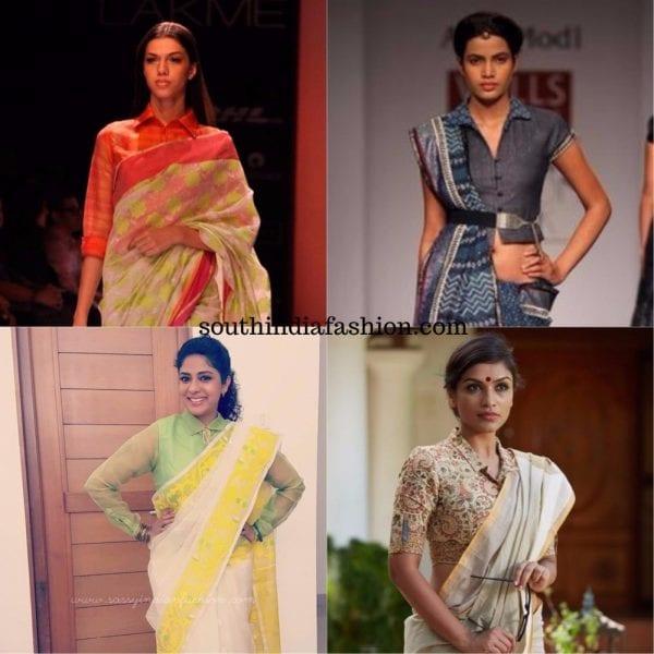 shirt blouses for sarees2 600x600