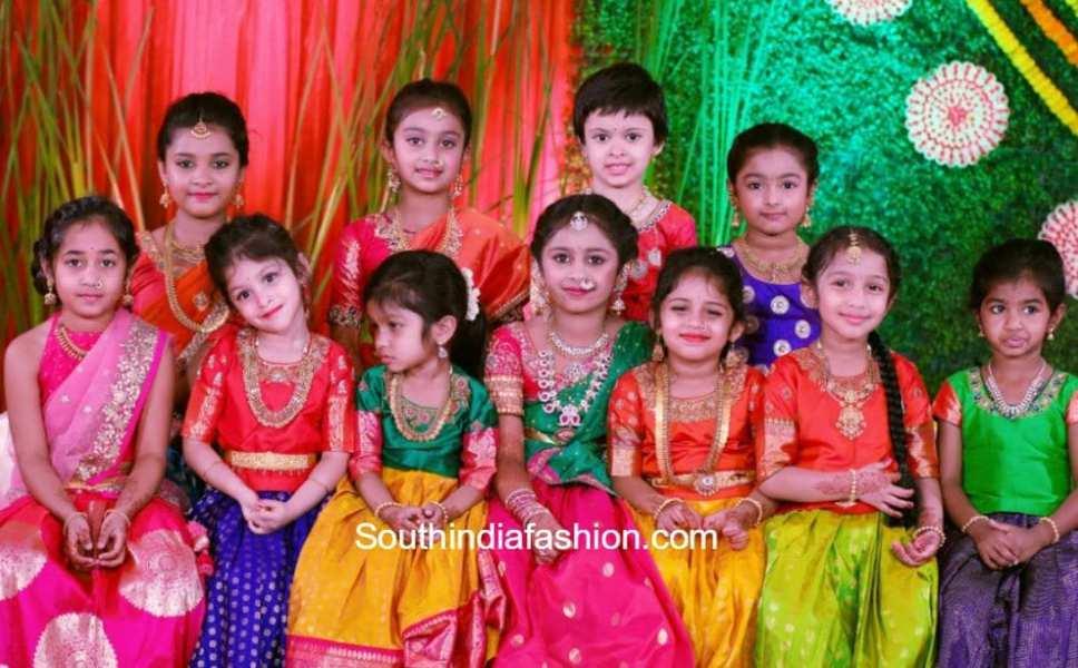 swetha-reddy-daughter-hiya-half-saree-function