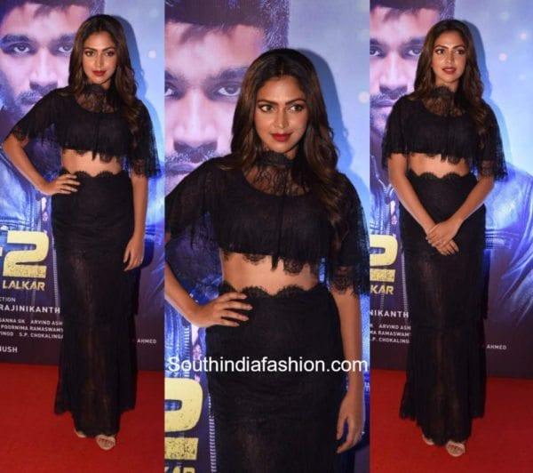 Amala Paul in Sunaina Khera for VIP2 Trailer Launch