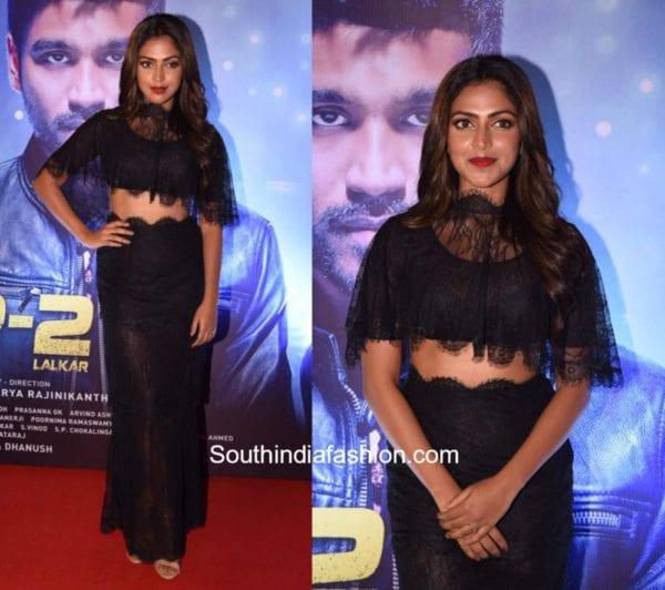 Amala Paul in Sunaina Khera for VIP2 Trailer Launch 1