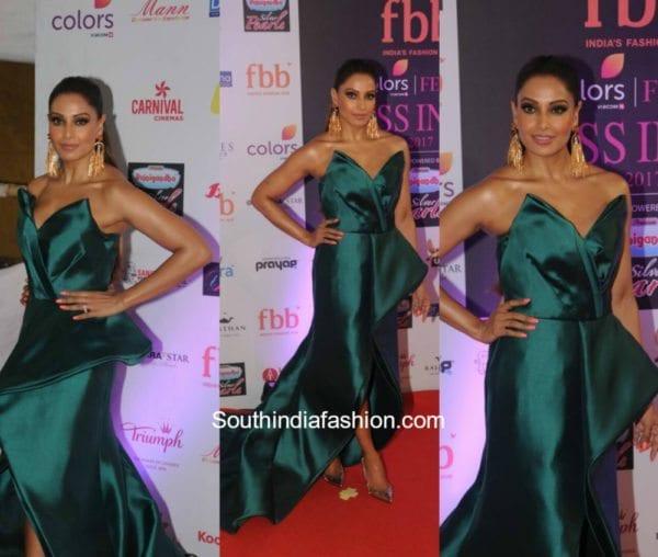 Bipasha Basu in Mark Bumgarner at Miss India Pageant 2017