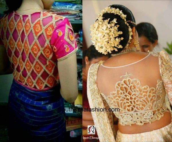 Cutwork Blouse Embroidery Designs 2 600x495