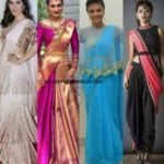 Trendy Saree Styles For The Trendy Girls