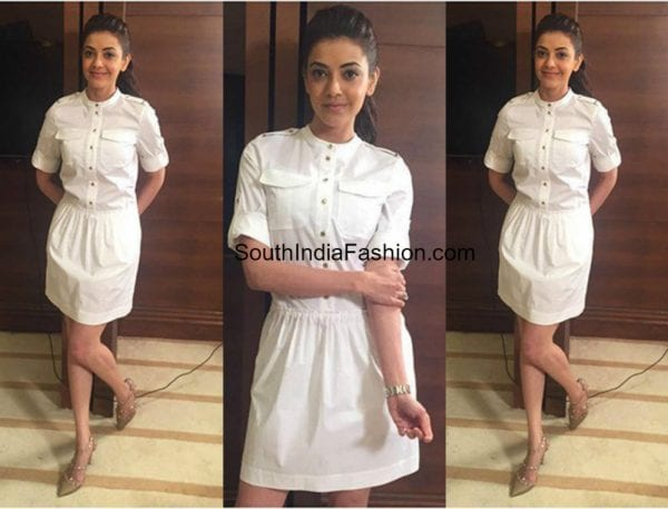kajal-aggarwal-in-a-whiteoutfit