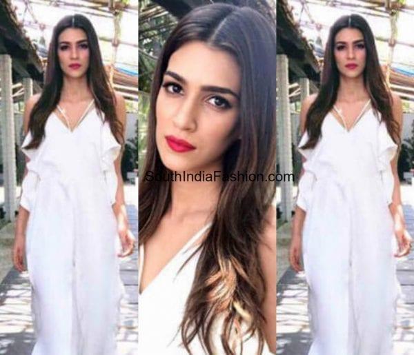 kriti-sanon-in-a-white-dress