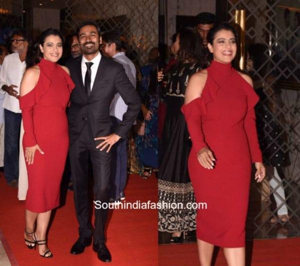 Kajol Devgan in Gauri and Nainika for VIP 2 Trailer Launch (2)