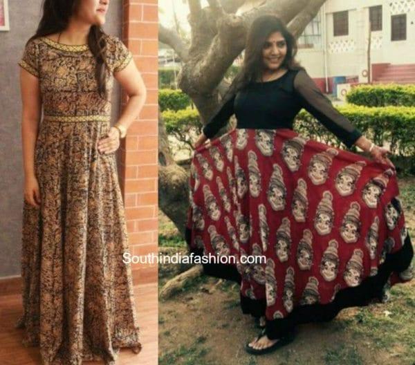 Kalamkari Maxi Gowns