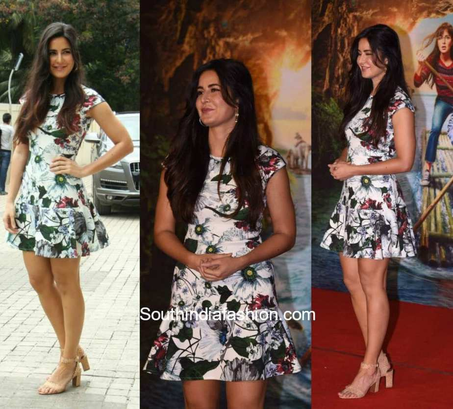 KATRINA KAIF IN ERDEM 2018 – South India Fashion
