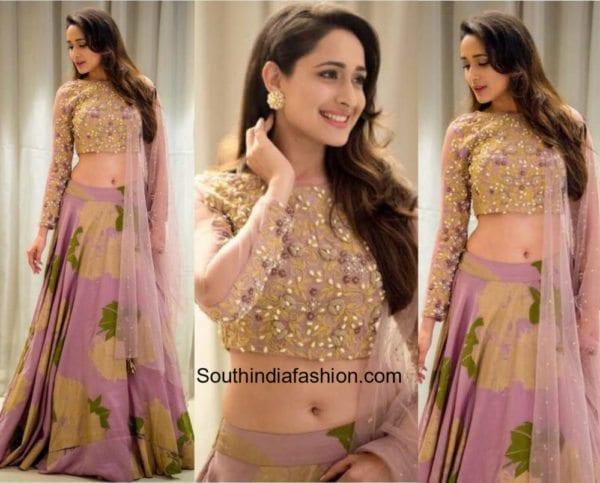 Pragya Jaiswal in Bhumika Sharma for an engagement in Hyderabad 600x483