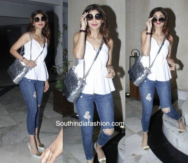 Shilpa Shetty's stylish look