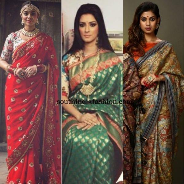 Ayush Kejriwal sarees