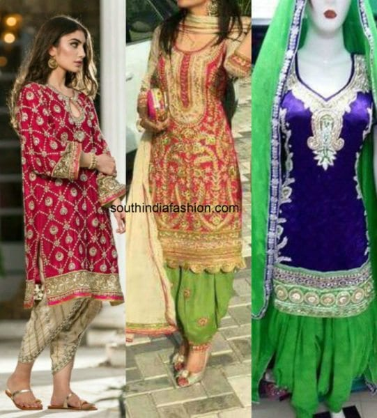 Heavy Patiala Suits