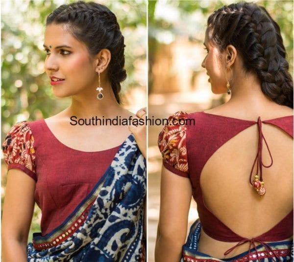kalamkari-blouse-designs