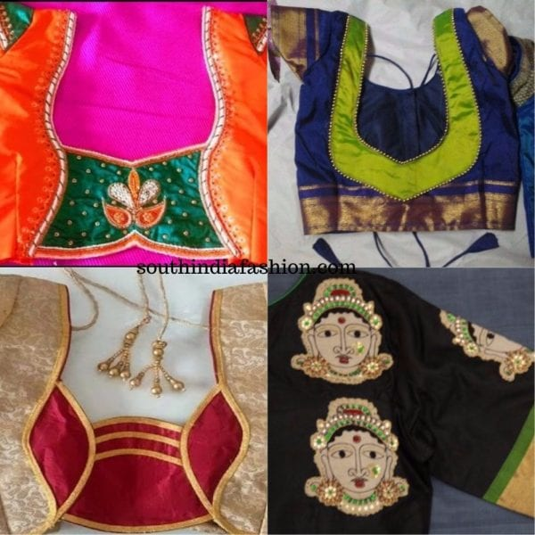 Patch Work Blouses To Add Some Fun