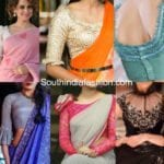 TRENDING HOT: Frilled Sleeves Saree Blouses