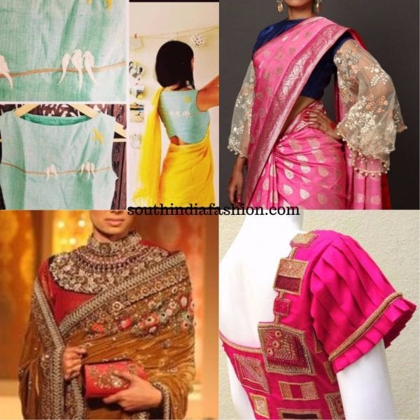 6cf2369feee83 Statement Blouses  A Must Have To Make Your Saree Looks Interesting