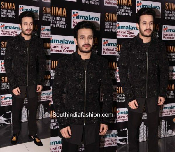 Akhil Akkikeni at SIIMA Awards 2017