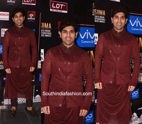 Allu Sirish in Shantanu & Nikhil at SIIMA Awards 2017