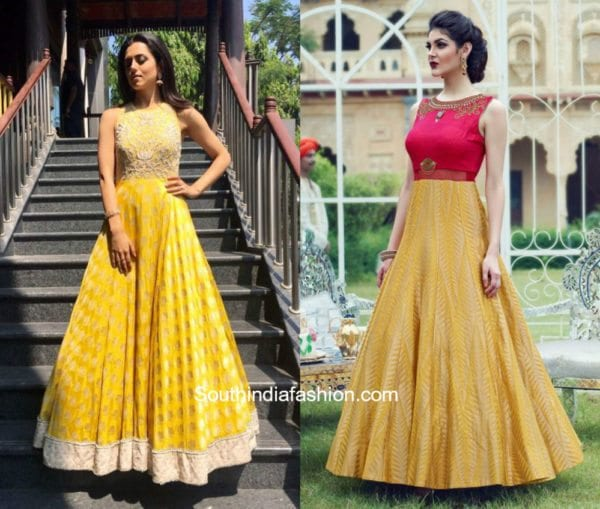 Anarkali Gowns 1