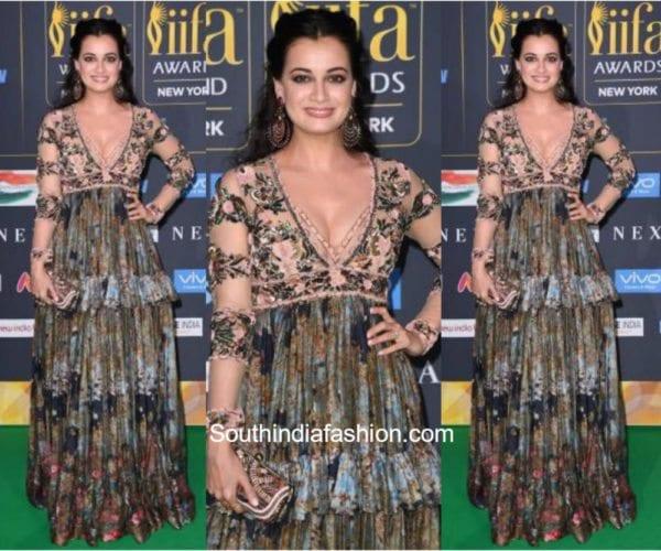 Dia Mirza in Rocky Star at Iifa Awards 2017 600x500