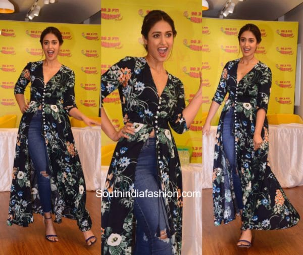 Ileana D Cruz in SR Store for Mubaarakan Promotions