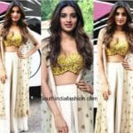 Niddhi Agerwal in Arpita Mehta for Munna Miachel Promotions 150x150