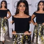 Pooja Hegde in Theia Couture