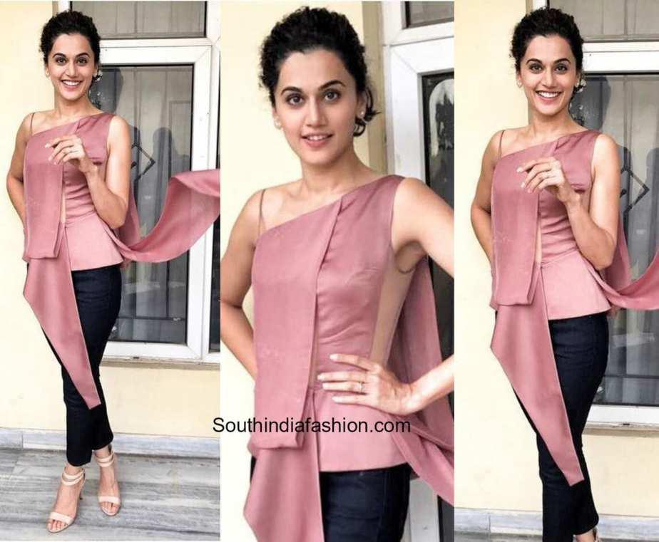 Nude Priyanka Gandhi Ele taapsee pannu in rohit gandhi and rahul khanna –south india fashion