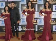 anita hassanandini at gold awards 2017