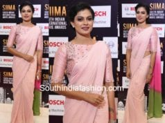 anusree in saree siima 2017