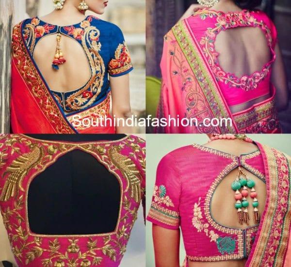 cut-back-neck-designs-for-saree-blouses