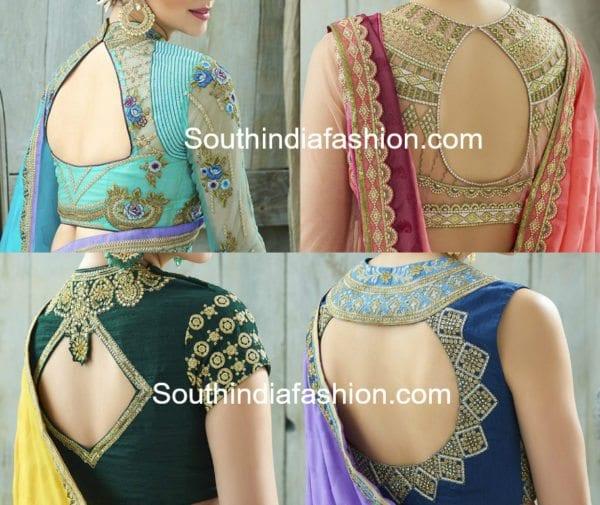 cut-out-saree-blouse-designs