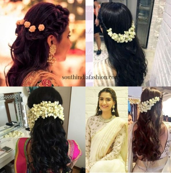 Flowers To Enhance Your Hairstyle