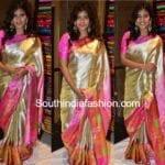 Hebah Patel in a Kanjeevaram saree