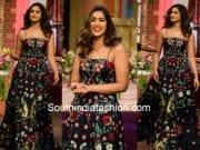 ileana shriya som maxi dress mubarakan promotions