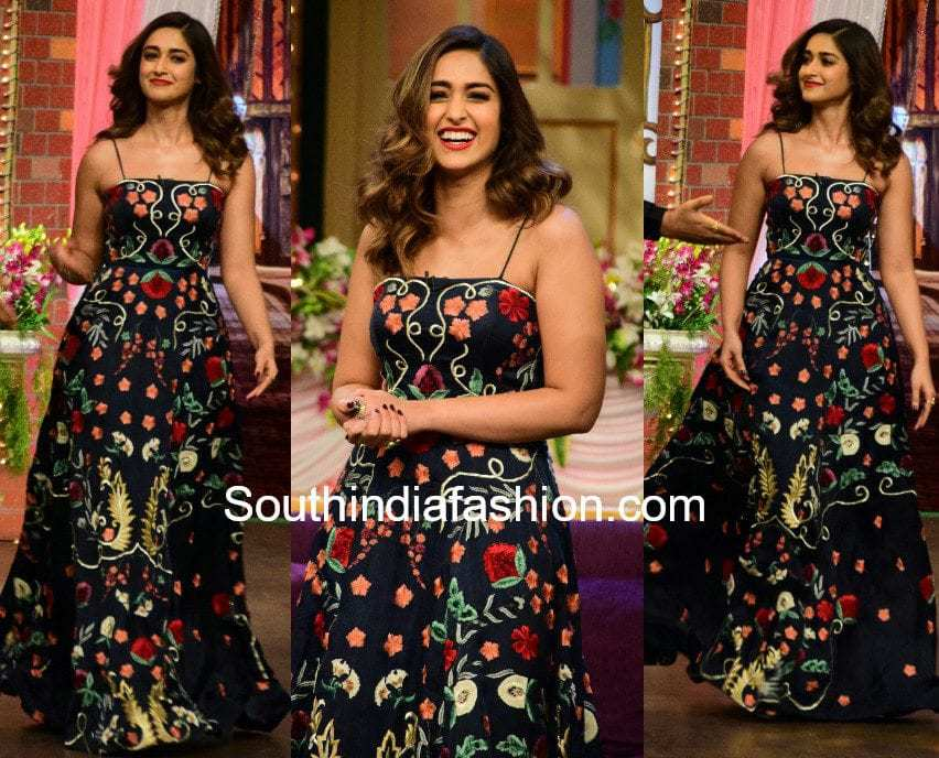 ileana shriya som maxi dress mubarakan promotions