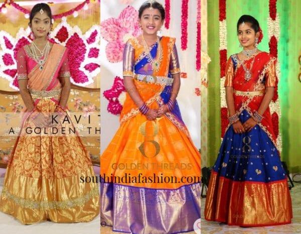 Half Sarees From Kavitha Gutta