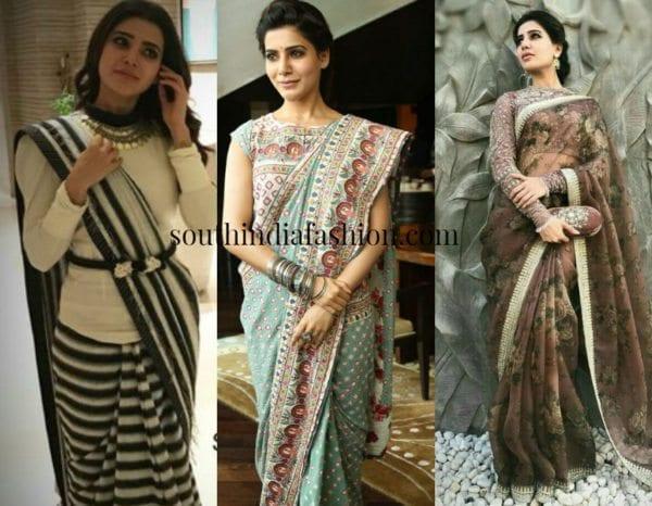 5 Gorgeous Sarees Of 5 Gorgeous Actresses