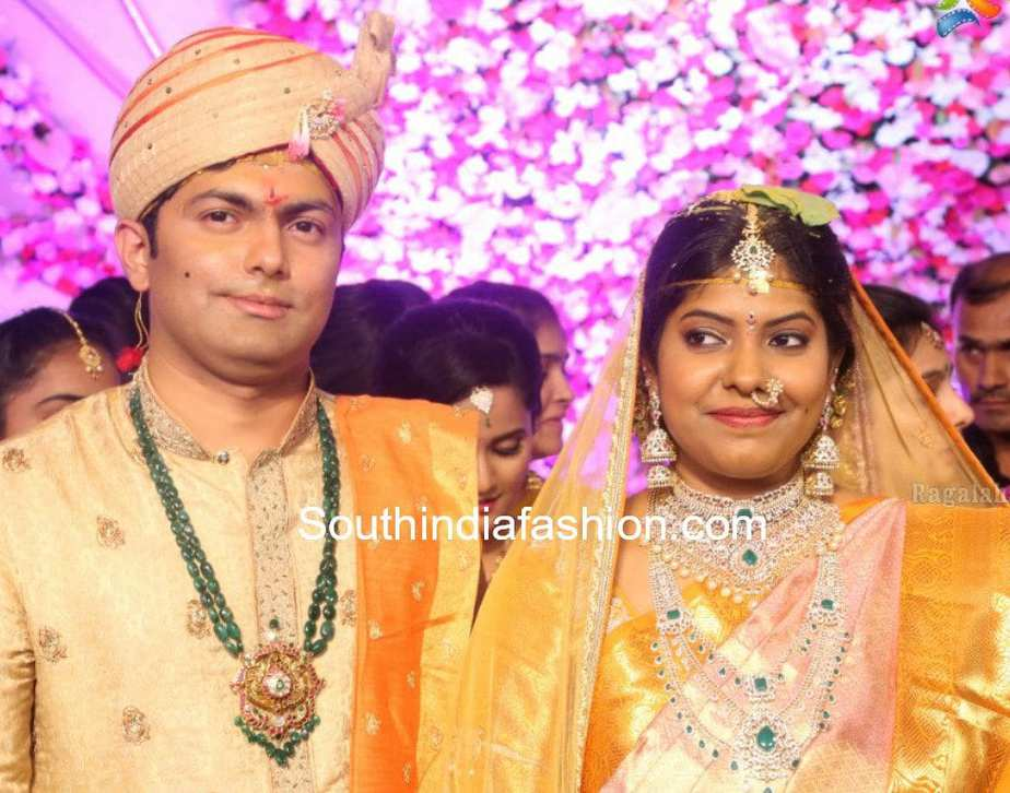 Maithri and Abhishek's Wedding – South India Fashion