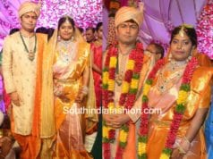 producer shyam prasad reddy daughter maithri wedding photos
