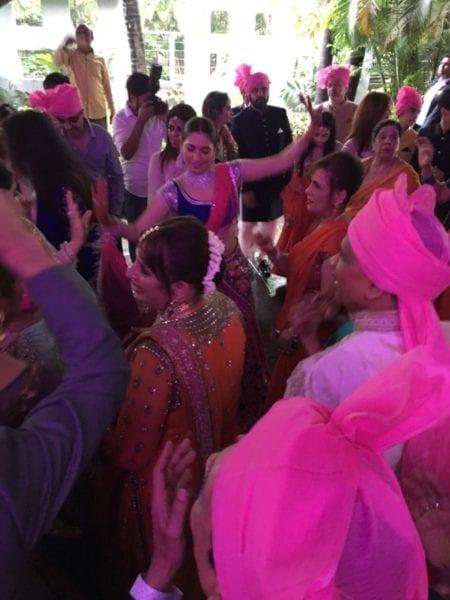 tamannaah at brother weddeing
