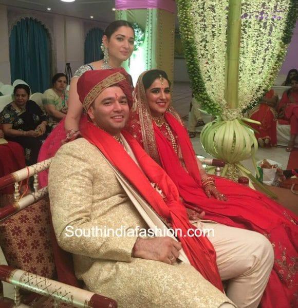 tamannaah-brother-wedding-photos